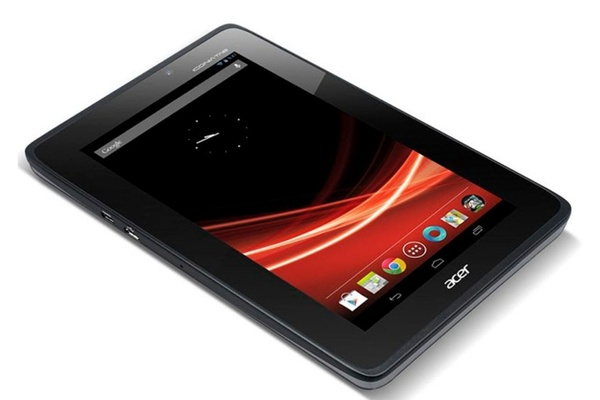 Acer julkaisi seitsemän tuuman kilpailijan Nexus 7:lle