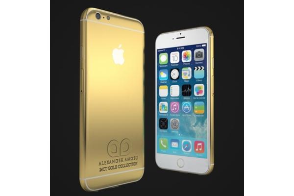Ihanan kallista: iPhone 6 tilattavissa myös 24 karaatin kultapinnoituksella