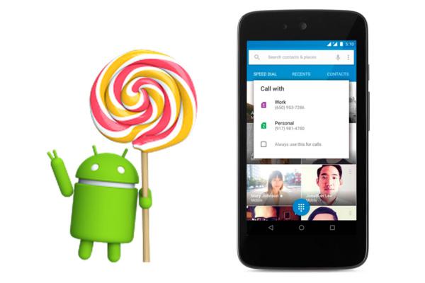 Google julkisti Android 5.1:n
