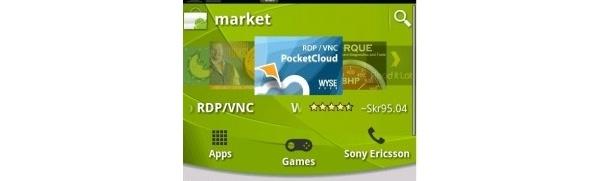 Sony Ericsson uusi Android Marketia