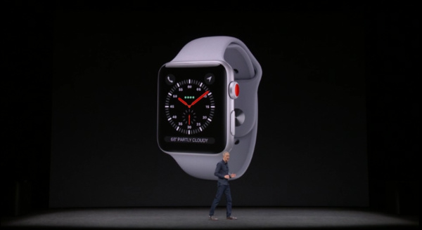 Apple esitteli Watch Series 3:n – Kauan kaivattu ominaisuus vihdoin mukana