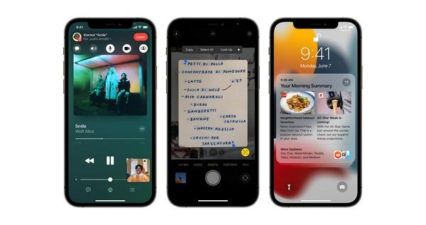 Apple julkaisi iOS 15 ja watchOS 8 käyttöjärjestelmäversiot