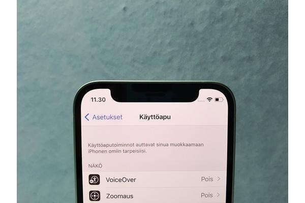 Opas: iPhonen takaosan napautuksen käyttöönotto