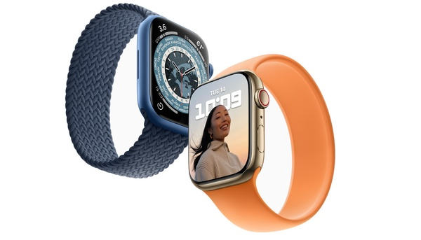 Apple Watch Series 7 tulee tilattavaksi 8.10. ja saataville 15.10.