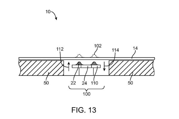 Applen uusi patentti asettaa fyysiset kontrollit joustavan näytön alle