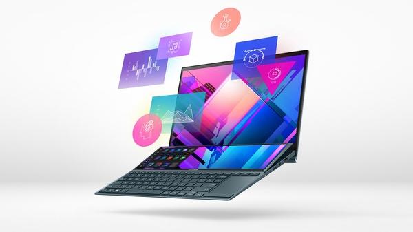 Kahden näytön ZenBook Duo 14 -kannettava nyt myynnissä Suomessa