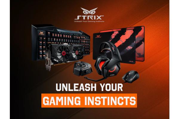 Katsauksessa Asus Strix Tactic Pro -pelinäppäimistö ja Claw-pelihiiri