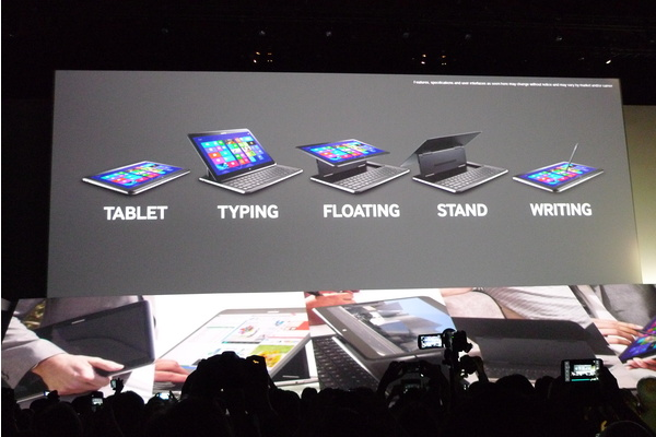 Videolla: pikakatsauksessa Samsungin muuntautuva tabletti Ativ Q