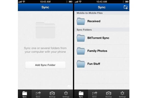 BitTorrent Sync ladattavissa nyt myös iOS-versiona