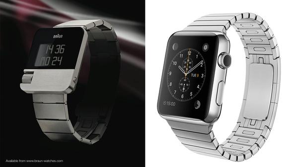 Apple Watch on aivan kuin Braunin pari vuotta sitten julkaisema kello