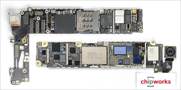 IPhone 6:n sisältä löytyi mysteerinen piiri – kompassi, kiihtyvyysanturi vai jotakin muuta?