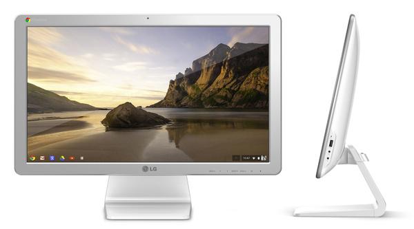 LG offentliggører Chromebase: en alt-i-en Chrome OS-stationær
