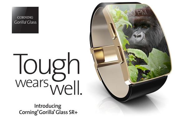 Gorilla Glassin kehittäjä esitteli haastajan safiirille