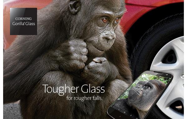 Älypuhelimien näytöt rikkoontuvat pudotusten takia: Uusi Gorilla Glass 4 yrittää korjata tilanteen