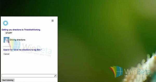 VIDEO: Tältä näyttää Cortana Windows 10:llä