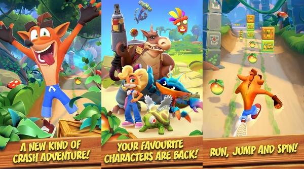 Crash Bandicoot Mobile -peli ilmestyi Google Play -sovelluskauppaan - peli testattavissa muutamissa maissa