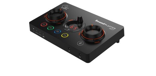 Creativelta pelikäyttöön suunnattu Sound Blaster GC7 USB DAC -muunnin
