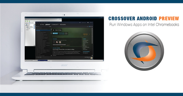 Windows-sovelluksia on mahdollista käyttää Chromebookeilla CrossOverin avulla