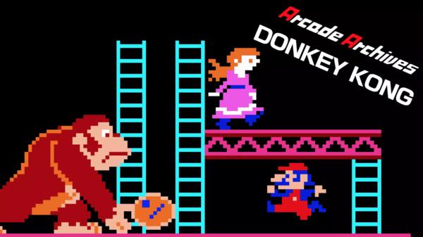 Alkuperäinen Donkey Kong julkaistiin Nintendo Switchille