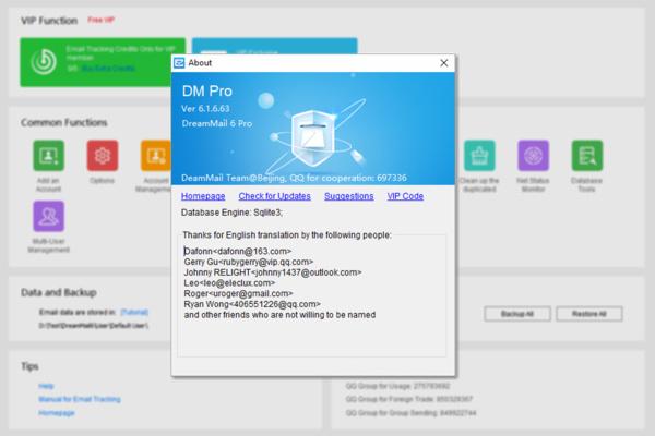 Nieuwe DreamMail met veel nieuwe features