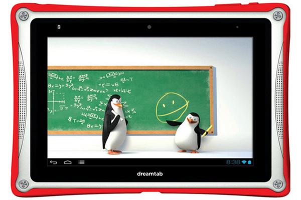 DreamWorksilta lapsille suunnattu 8 tuuman Android-tabletti keväällä