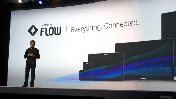 Samsungin Flow-tekniikkaa hyödyntävä sovellus nyt betassa
