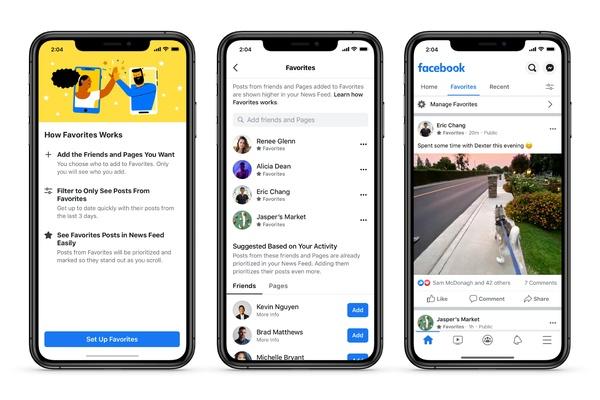 Facebook helpottaa uusimpien julkaisujen näkemistä algoritmin ehdottamien julkaisujen sijaan
