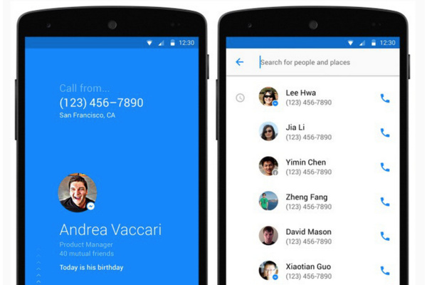 Facebookin uutuussovellus paljastaa kuka sinulle soittaa
