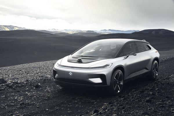 Tesla sai kovan kilpailijan – Faraday Future esitteli FF91:n