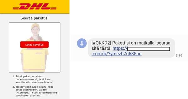 Traficom varoittaa: salasanoja ja muita tietoja varastavaa Android-haittaohjelmaa jaetaan suomenkielisen tekstiviestin muodossa