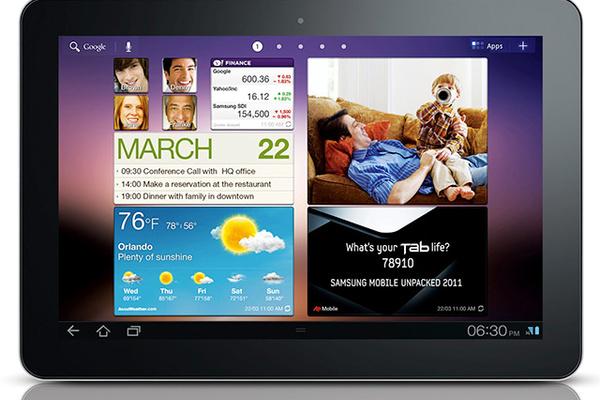 Samsungin 2560x1600-resoluution tabletti paljastui?