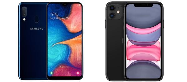 Vuoden 2020 myydyimmät puhelimet: Galaxy A20e ja iPhone 11 suosituimpia