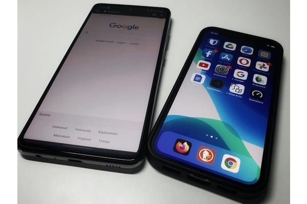 Tutkimus: Android lähettää 20 kertaa enemmän dataa Googlelle kuin iOS Applelle