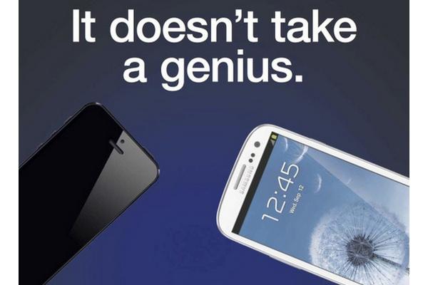 Samsung voi joutua maistamaan omaa lääkettään: HTC palkkasi Galaxy-brändin tekijän