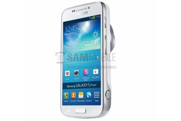 Samsungin uusi kamerapuhelin paljastui: Galaxy S4 Zoom isolla optiikalla (päivitetty)
