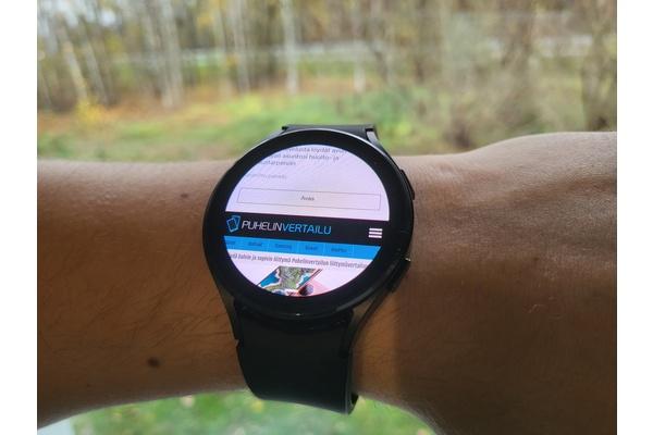 Nettiä voi nyt selata Galaxy Watch4 -älykelloilla