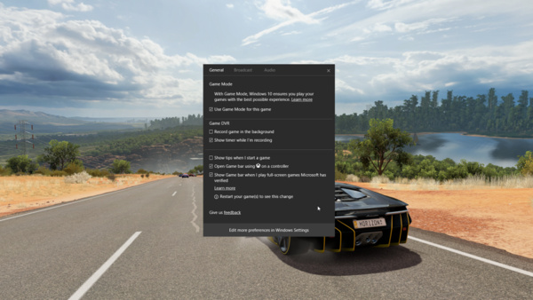 Windows 10:n uuden Game Mode -tilan testaus alkaa
