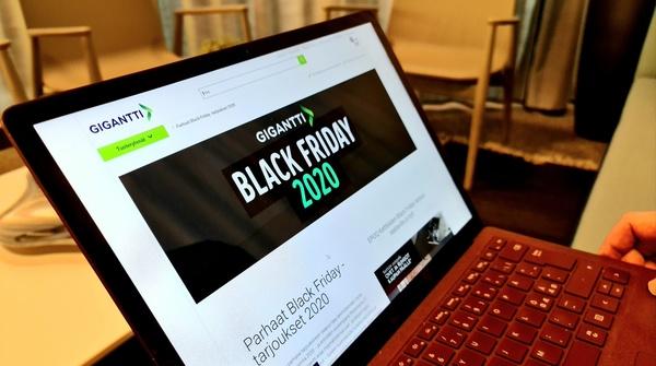 Nyt ne jo tulevat! Gigantin Black Friday alkaa jo 20.11. ja kestää peräti 11 päivää