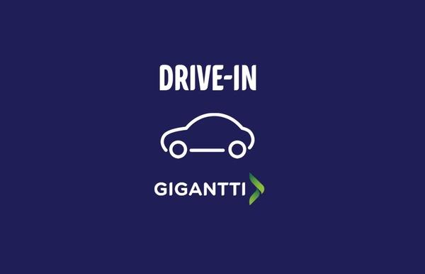 Gigantin tuotteita voi nyt ostaa Drive-in-palvelun avulla myymälän parkkipaikalta nousematta autosta