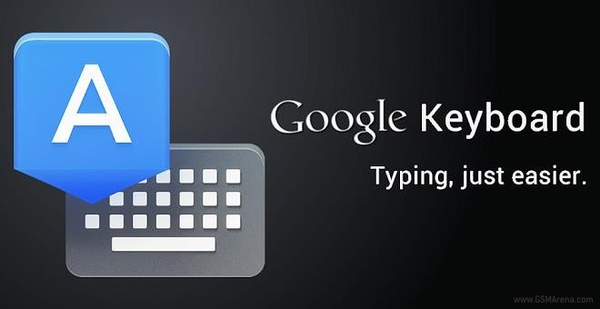 Googlen oma Android-näppäimistö ladattavissa Play-kaupasta