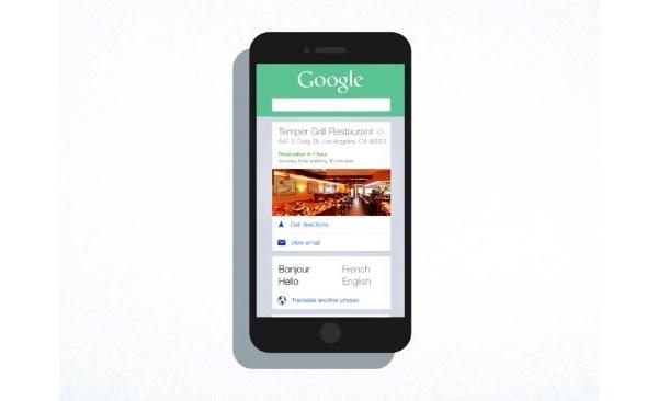 Google Now tarjoaa nyt iOS:lle samaa toiminnallisuutta kuin Android-laitteillekin