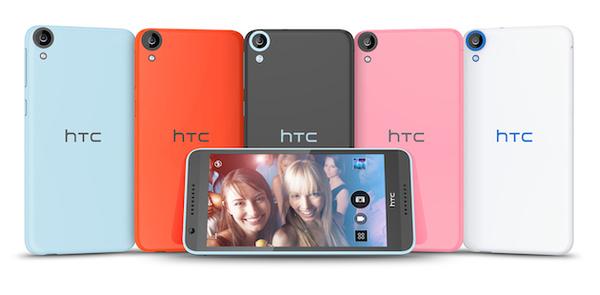 64-bittiset älypuhelimet tulevat: HTC esitteli Desire 820