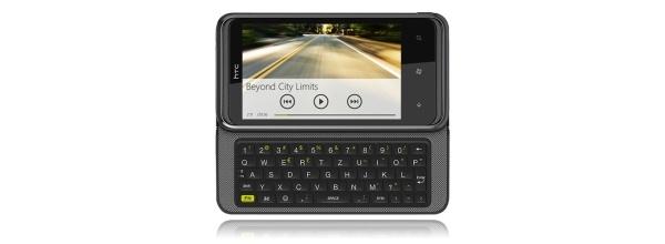 HTC 7 Pro fyysisellä näppäimistöllä saapuu tammikuussa