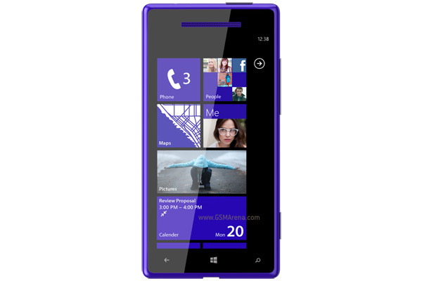 HTC:n Windows Phone 8 -avaus on nimeltään 8X