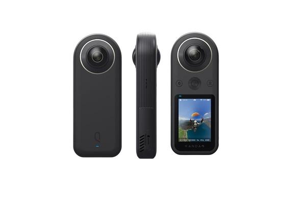 Kandao QooCam 8K -taskukameralla voi kuvata 360 asteen 8K -videota - Suomessa myyntiin 649 euron hinnalla