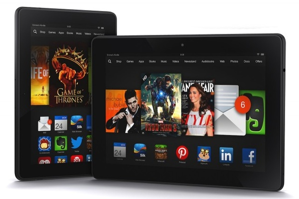 Amazon esitteli uudet Kindle Fire HDX -tabletit