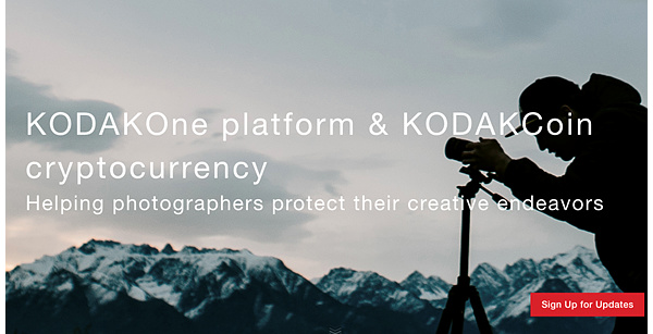 Remember Kodak? Yes, the cryptocurrency company