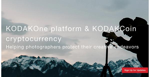 Muistatko Kodakin? Valokuvafirma laajenee kryptovaluutoihin