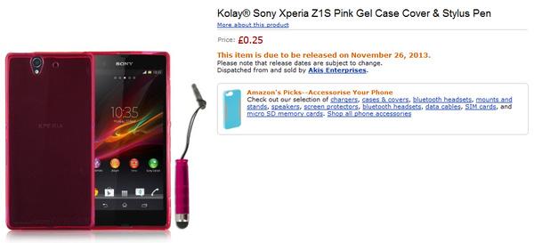 Paljastavatko Sonyn Xperia Z1S:n suojukset puhelimen julkaisupäivän?