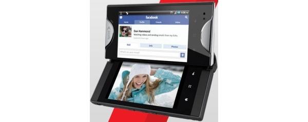 Kyocera Echo on kahden kosketusnäytön Android-puhelin